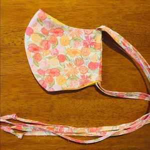 Set of two fabric face masks